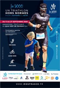 triathlon hors normes pour Iron france